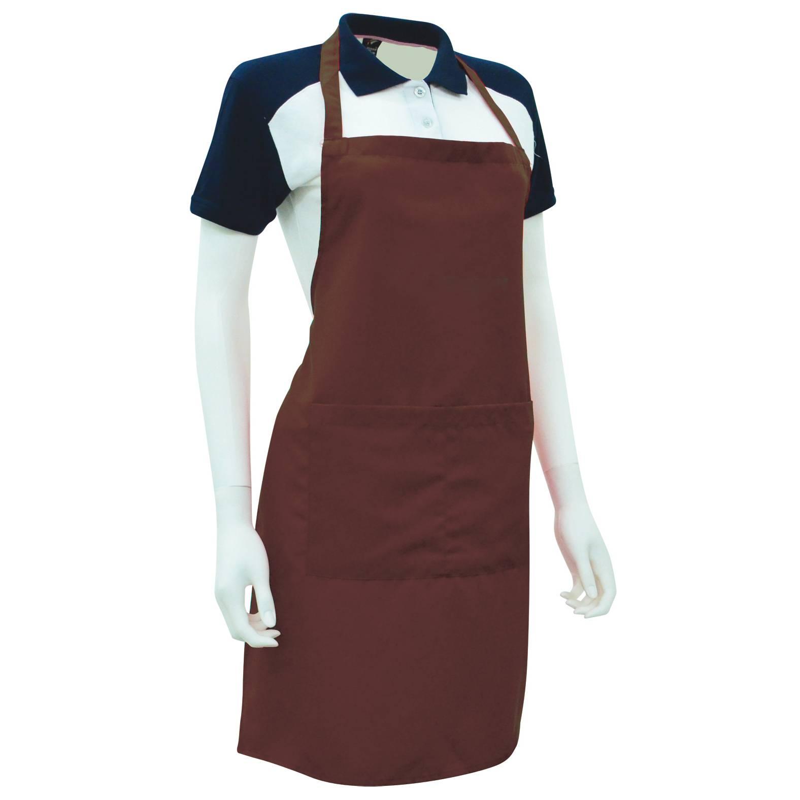 White apron malaysia - Full Body Apron Af00