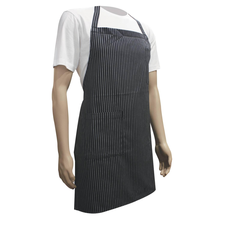 White apron malaysia - Stripe Apron